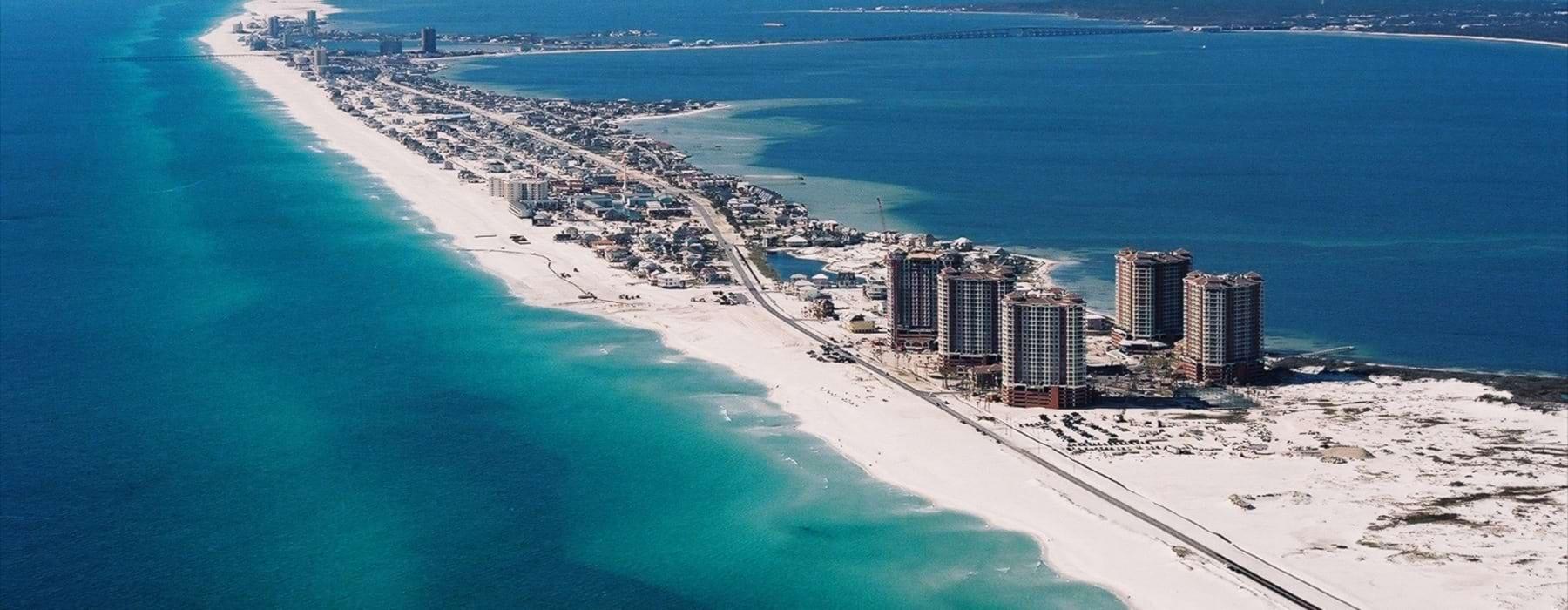 view of Pensacola Beach, Florida