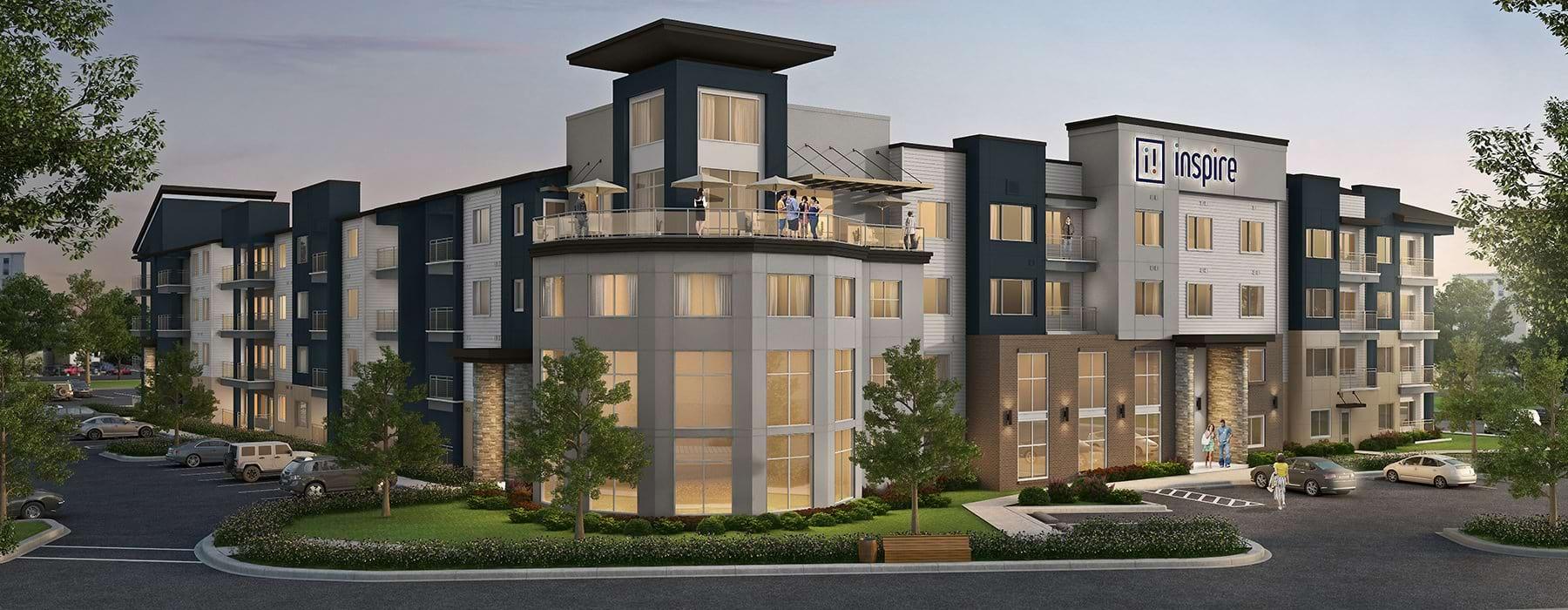 exterior rendering of Inspire